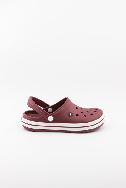 Akınalbella Bordo Crocs Terlik