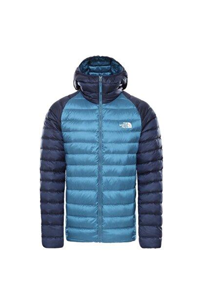 The North Face Trevail Hoodie Erkek Mavi Outdoor Mont Nf0a39n4sf61