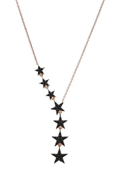 By Barun Silver Kadın 7 Yıldızlı   Gümüş Kolye