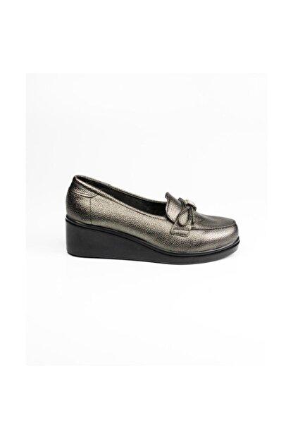 Polaris Gümüş Kadın Günlük Ayakkabı