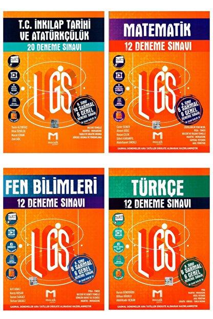 Mozaik Yayınları 8. Sınıf Inkılap + Matematik + Fen Bilimleri + Türkçe Lgs Deneme Sınavı 4 Kitap