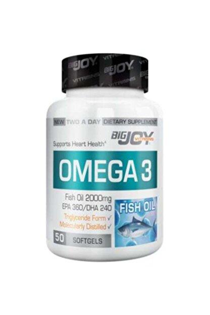 Big Joy Bigjoy Omega 3 50 Kapsul
