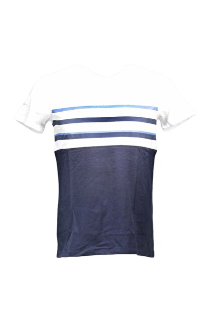 Collezione Lacivert Erkek Lacivert Spor Regular Kısa Kol T-shirt