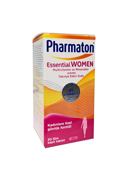Pharmaton Essential Women Takviye Edici Gıda 30 Tablet