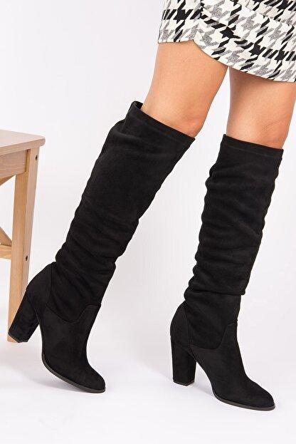 Fox Shoes Siyah Kadın Çizme G572443602