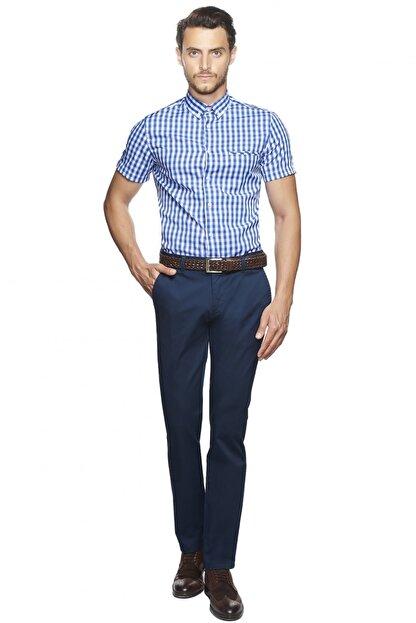 Altınyıldız Classics Tailored Slim Fit Kısa Kollu Gömlek