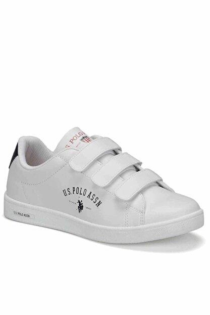 US Polo Assn Sınger 9pr Kadın Günlük Spor Ayakkabı 100418133beyaz