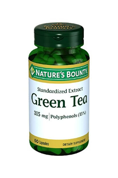 Natures Bounty Green Tea Extract 315 Mg 60 Kapsül