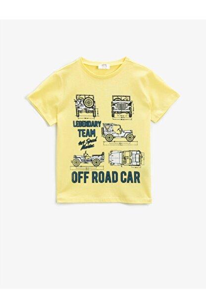 Koton Erkek Çocuk Sarı T-Shirt