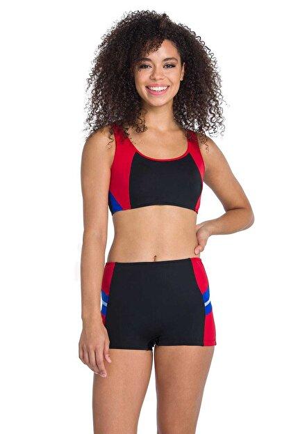 Dagi Kadın Siyah Yüzücü Bikini Takımı