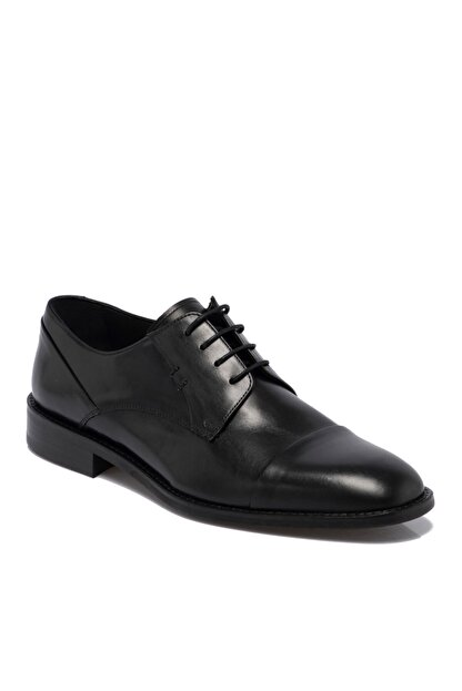 Tergan Erkek Siyah Deri Ayakkabı 55311a43
