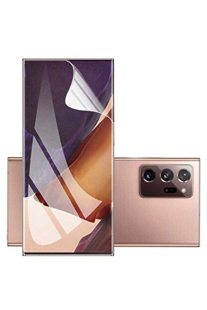 Samsung Galaxy Note 20 Ultra Uyumlu Ekran Koruyucu Kavisli Tam Kaplayan Esnek Film