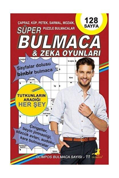 Olimpos Yayınları Süper Bulmaca & Zeka Oyunları 11