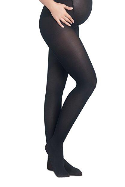 Penti Siyah Hamile Külotlu Çorabı 40 Denye