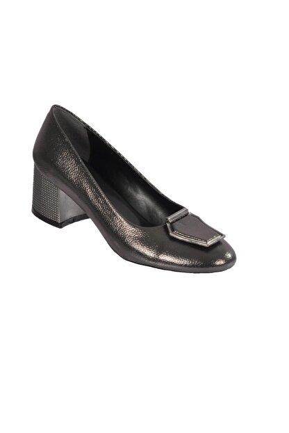 Maje 2122 Platin Kadın Topuklu Ayakkabı