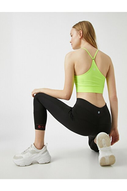 Koton Kadın Sarı Spor Sütyeni