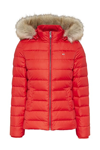 Tommy Hilfiger Tjw Basıc Hooded Down Jacket