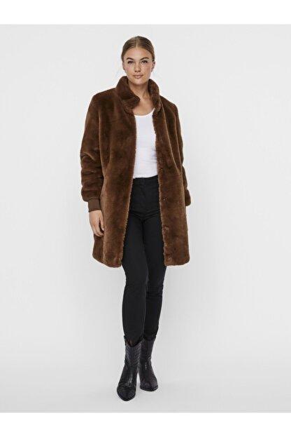 Vero Moda Kadın Kahverengi Kaban
