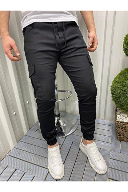 DCS COLLECTION Slim Fit Beli Ve Paçası Lastikli Kargo Cep Pantolon