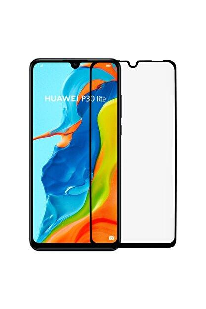 EPRO Huawei P30 Lite Siyah Seramik Nano Ekran Koruyucu Tam Kaplayan Kırılmaz Esnek Cam