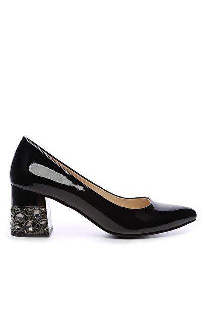 Kemal Tanca Kadın Derı Topuklu Ayakkabı 357 1255 BN AYK Y19
