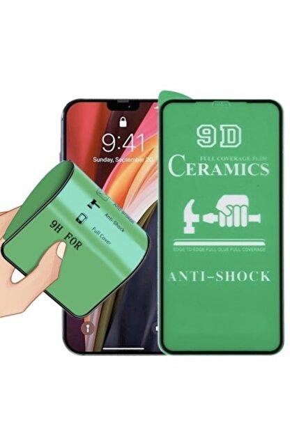 TEKNOPARKTA Iphone Xs Max Seramik Nano Esnek Tam Full Kaplayan Kırılmaz Cam Ekran Koruyucu