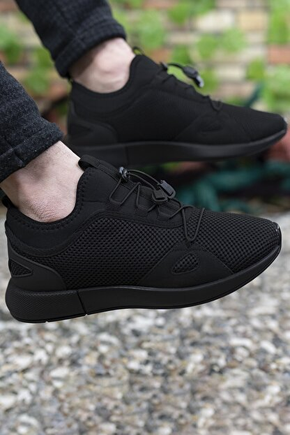 Riccon Erkek Siyah Sneaker 00121925