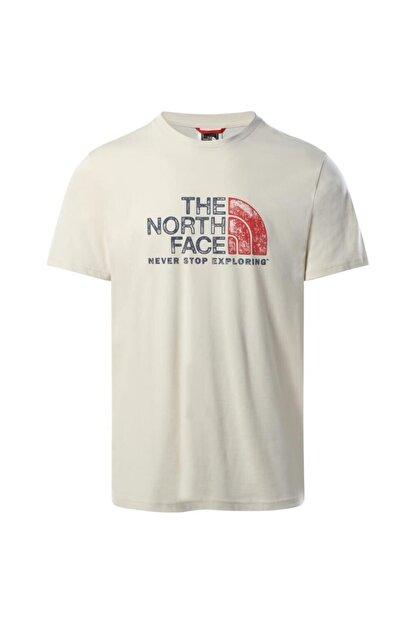 The North Face Erkek Tnf S S Rust 2 Tee Beyaz Tshırt Nf0a4m6811p1