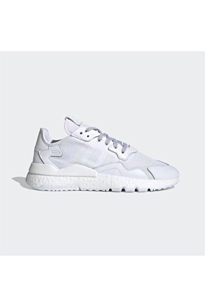 adidas Erkek Beyaz Nite Jogger Günlük Spor Ayakkabı