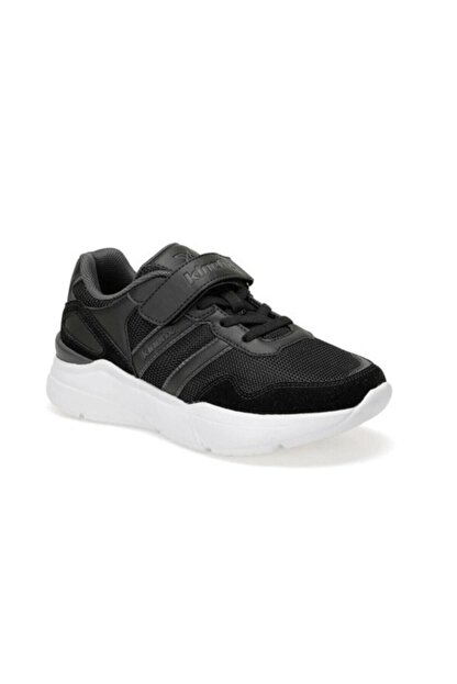Kinetix Santa J Erkek Çocuk Cırtlı Yüksek Taban Spor Ayakkabı Siyah