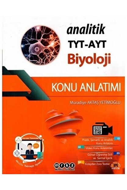 Merkez Yayınları Tyt Ayt Analitik Biyoloji Konu Anlatımlı