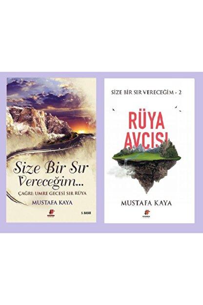 Fenomen Kitap Mustafa Kaya Size Bir Sır Vereceğim + Rüya Avcısı 2 Kitap