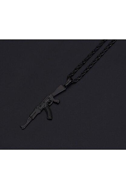 Apptakı Erkek Siyah Pubg Keleş Ak-47 Kolye