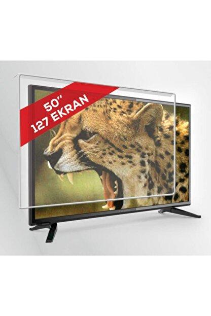 AYSGLASS 2mm 50'' Inch 127 Ekran Tv Uyumlu Ekran Koruyucu Tv Ekran Koruma Camı