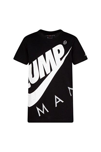Nike Unisex Çocuk Siyah Jordan Jumpman Street Team  T-shırt 95A352-023