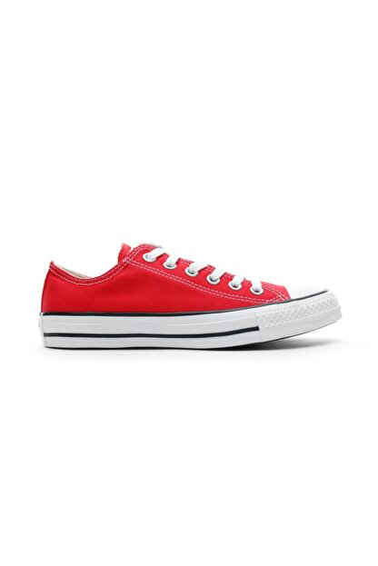 Converse Unisex Kırmızı Chuck Taylor All Star Sneaker