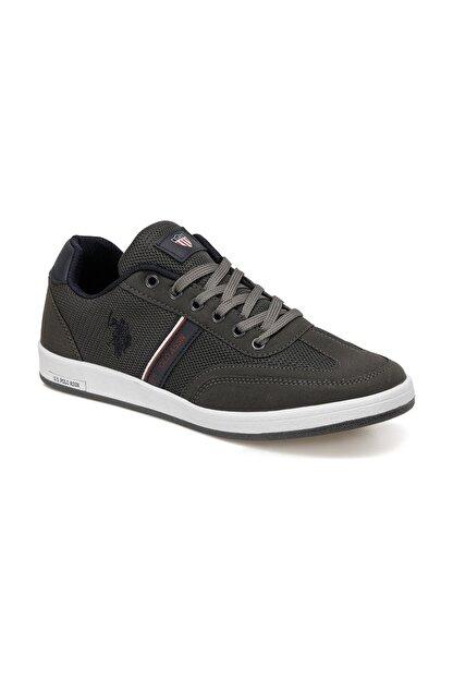 US Polo Assn KARES 1FX Gri Erkek Sneaker Ayakkabı 100910450
