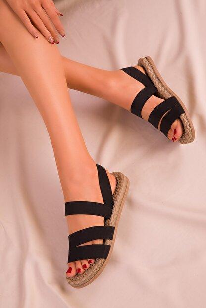 Soho Exclusive Siyah Kadın Sandalet 15098