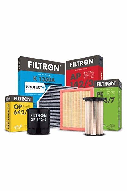 Filtron Ford Focus 3 1.6 Filtre Bakım Seti 2011-2018 Hava+ Yağ+ Polen Filtresi