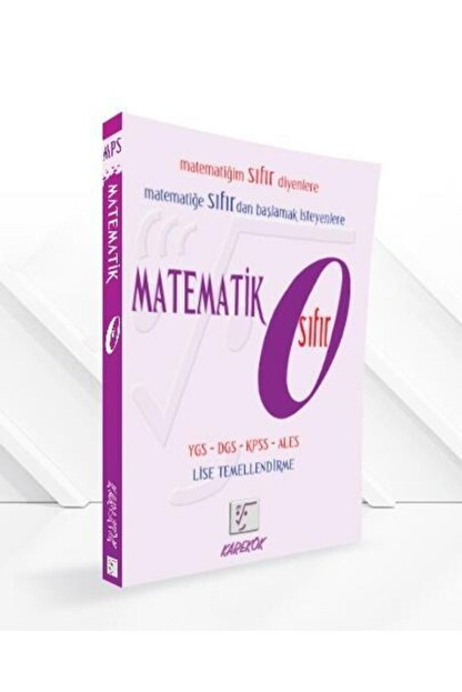 Karekök Yayınları Karekök Matematik 0