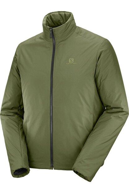 Salomon Erkek Yeşil Outrack Insulated Jkt M Ceket Lc1395900