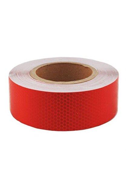 TEKNOPARS 12 Metre Petek Desen Kırmızı Fosfor Şerit 428739