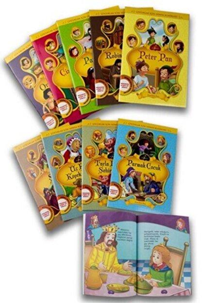 Çocuk Gezegeni Çocuklar Için Dünya Klasikleri 1 - 10 Kitap