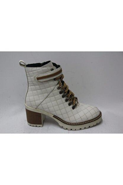 Cassido Kadın Beyaz Topuklu Bot