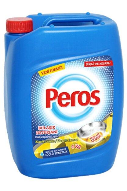Peros Sıvı Bulaşık Deterjanı Limon 4 kg