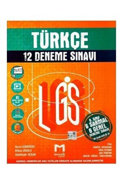 Mozaik Yayınları 8. Sınıf Lgs Türkçe 6 Sarmal 6 Genel 12 Deneme Sınavı