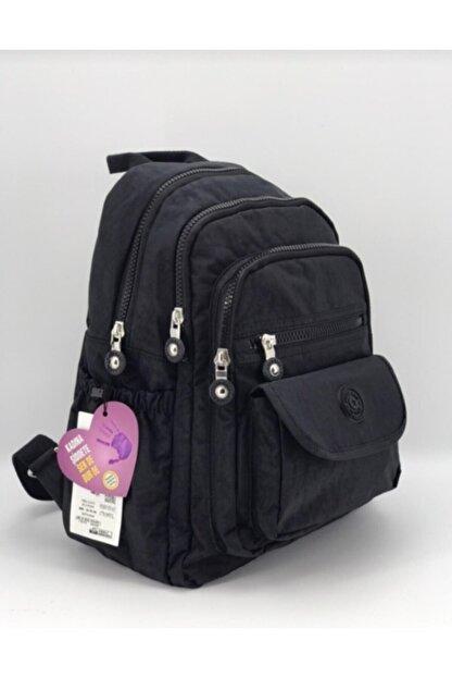 FCSTORE Unisex Siyah Su Geçirmez Sırt ve 12 Inç Okul  Tablet Çantası By Fcstore