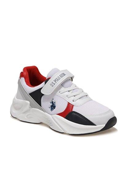 US Polo Assn PEJA Beyaz Erkek Çocuk Koşu Ayakkabısı 100601585