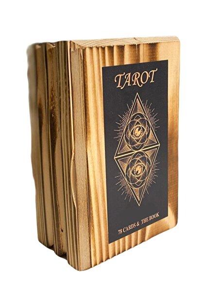 Star Oyun Tarot Kartları Ahşap Kutulu Ahşap Kutulu Tarot