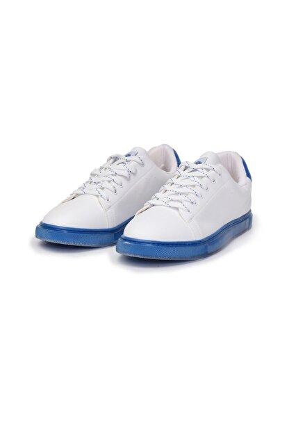 HUMMEL 212635-9109 Taegu Sneaker Beyaz-mavi